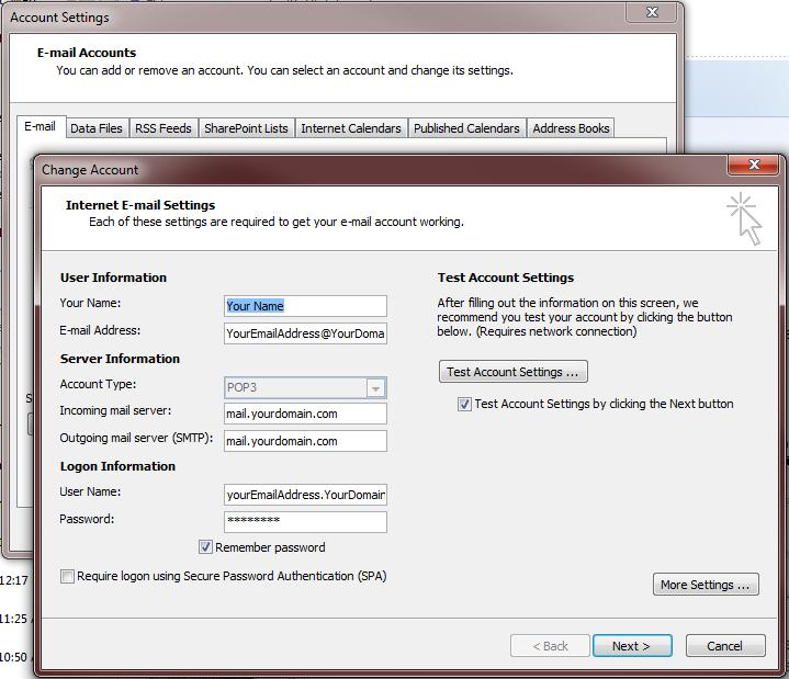 setupEmailClient-ClickNextToFinish