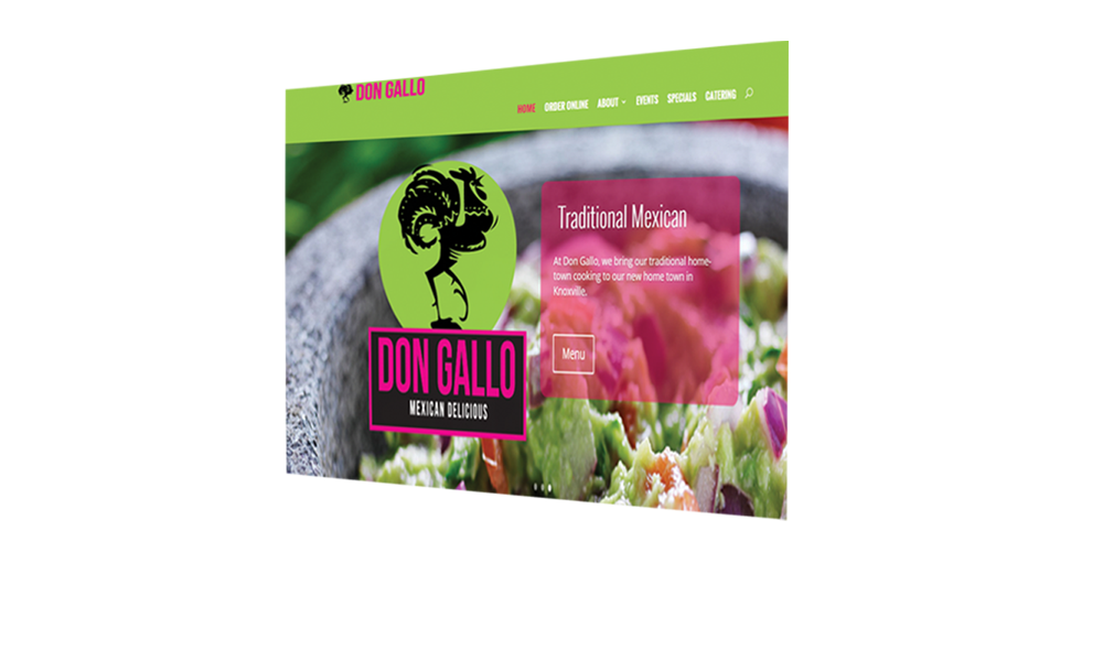 don gallo pc monitor responsive website