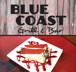 Blue Coast menu