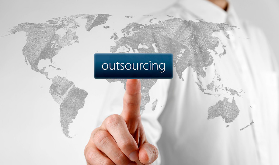 outsourcing a marketing job