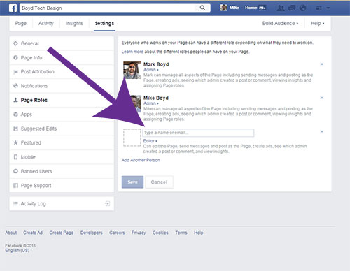 Facebook How to Add Admins GrantAccess