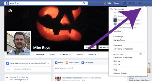 Facebook How to Add Admins Start