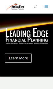leading edge iphone responsive website